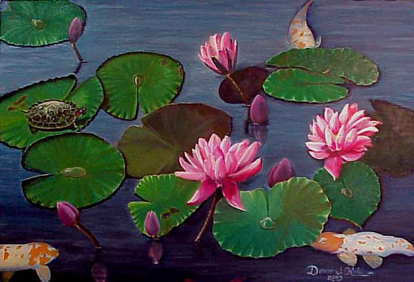 Lily Pond--SOLD