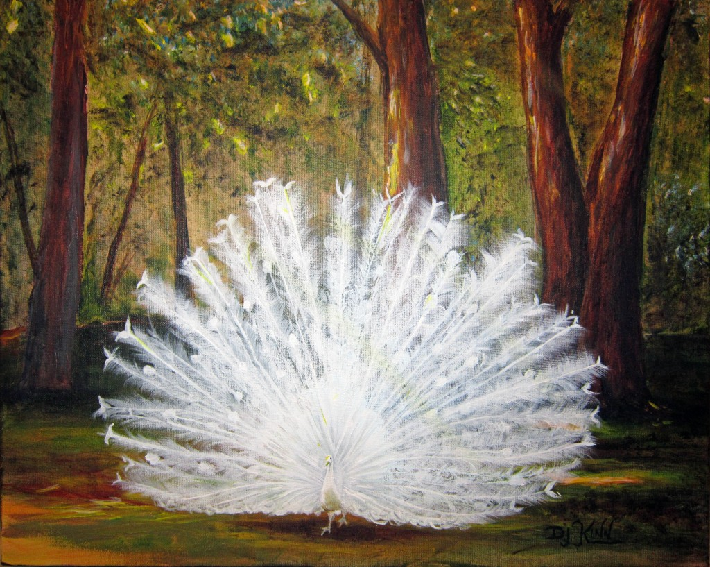 White Peacock -- SOLD